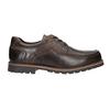 Casual Leather Lace-Ups bata, brown , 826-4640 - 26