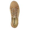 Leather sneakers weinbrenner, brown , 546-4238 - 19