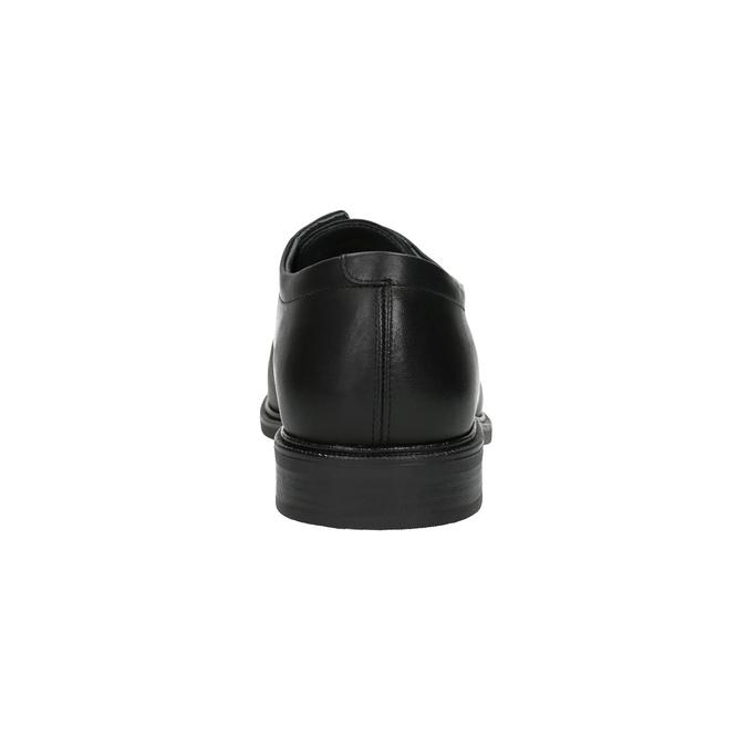 Leather Men's Shoes climatec, black , 824-6111 - 17