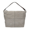 Leather Hobo-style handbag bata, gray , 963-2130 - 26