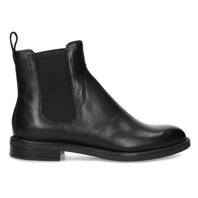 Black leather Chelsea Boots vagabond, black , 514-6007 - 19