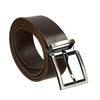 Brown leather belt bata, brown , 954-4129 - 13