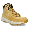 Men's leather ankle boots nike, yellow , 806-8435 - 13