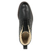 Leather winter shoes bata, black , 894-6642 - 19