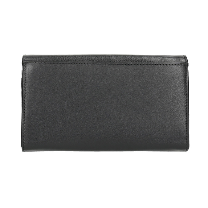 Ladies' leather purse, black , 944-6357 - 19
