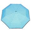 Blue umbrella with dots bata, blue , 909-9601 - 26