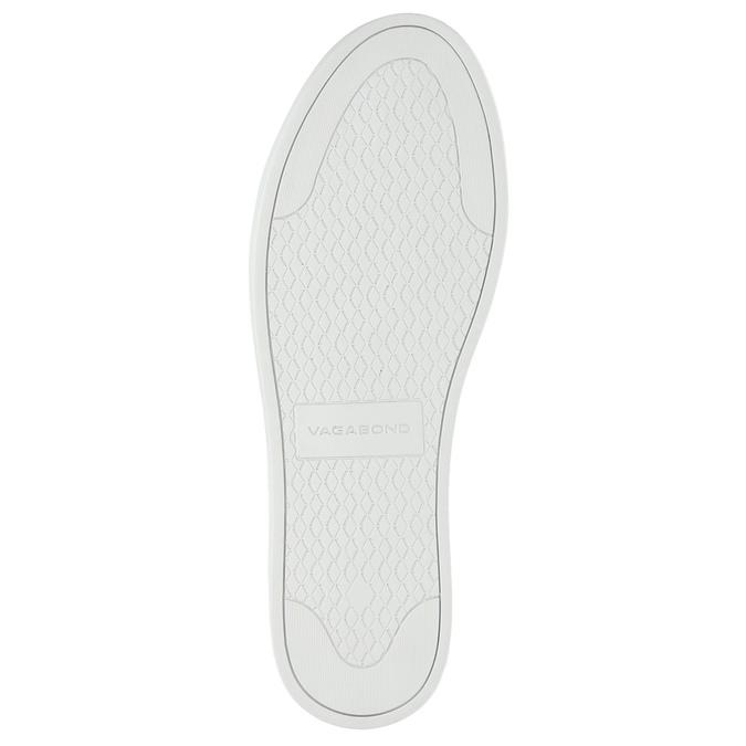 Black leather sneakers vagabond, black , 624-6014 - 26