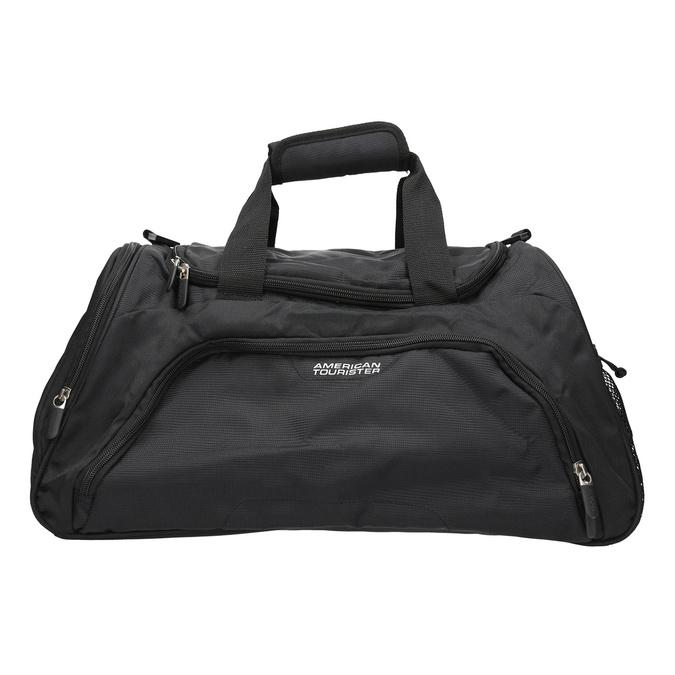 Black travel bag american-tourister, black , 969-6164 - 19