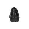 Black leather shoes, black , 824-6451 - 15