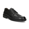 Black leather shoes, black , 824-6451 - 13