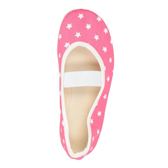 Children's Gym Shoes with Stars, pink , 379-5217 - 15