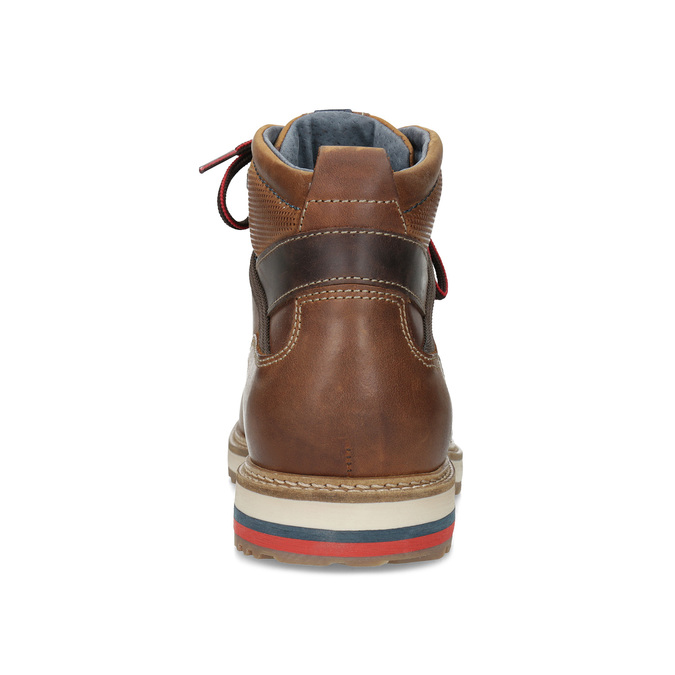 Men's Winter Ankle Boots bata, brown , 896-3677 - 15
