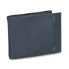 Men's leather wallet, blue , 944-9188 - 13