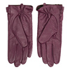 Ladies' leather gloves, violet , 904-0109 - 16