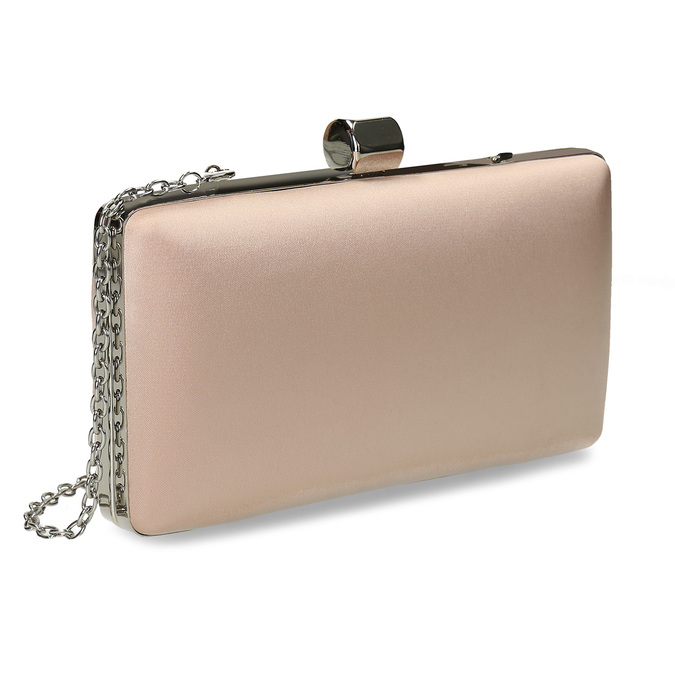 Cream clutch with chain, 969-8671 - 13