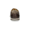 Men's leather sneakers bata, brown , 846-4617 - 15