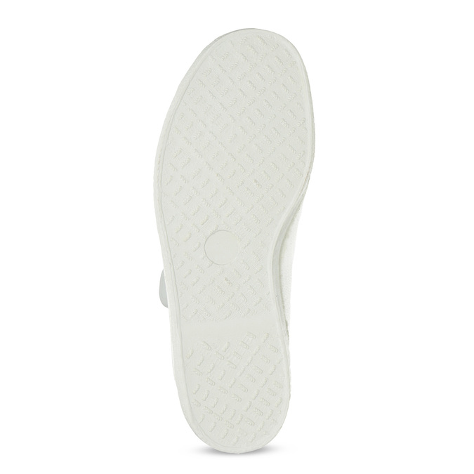 Kids' gym shoes bata, white , 379-1001 - 18